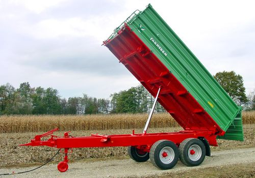Farmtech TDK Tandem-Dreiseitenkipper