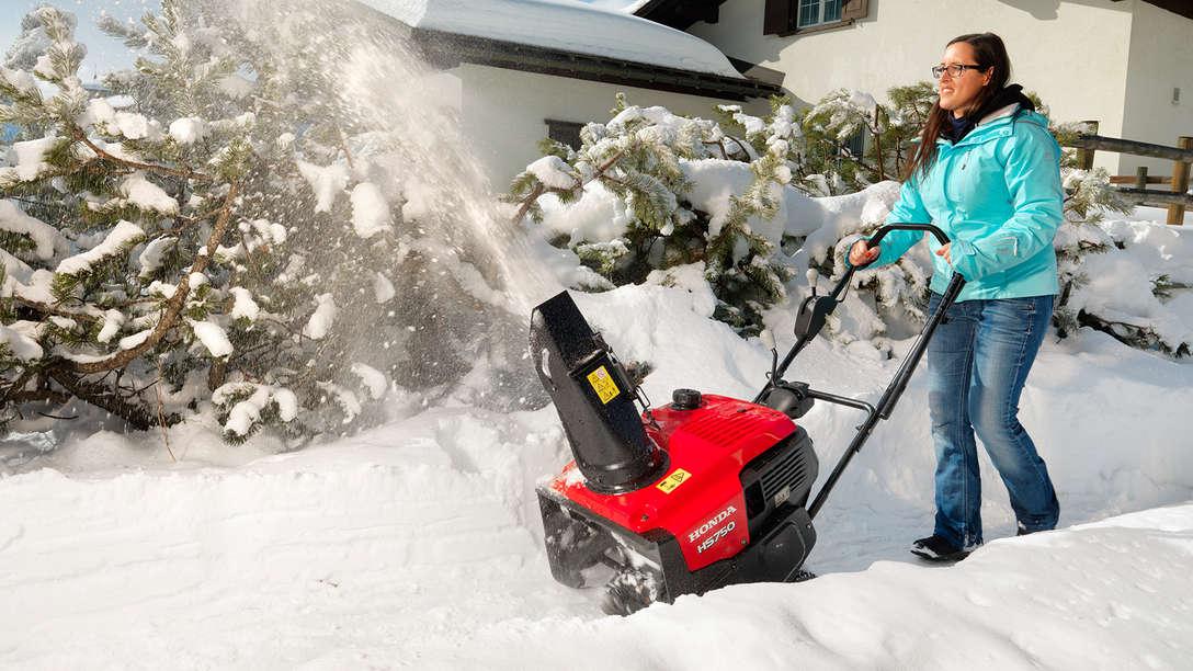 Honda Schneefräse Einstufig